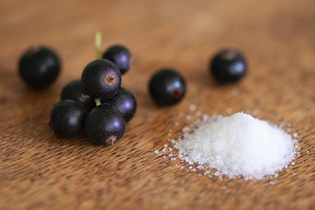 Grosellas Negras,la fruta con más Vitamina C
